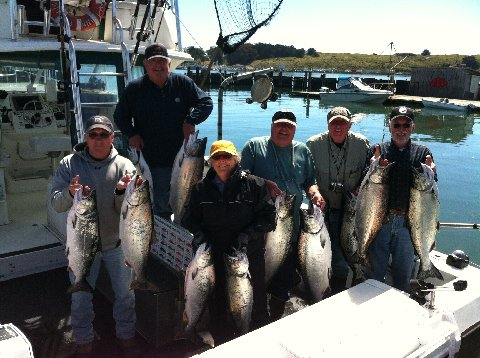 Great salmon fishing mendonoma sightings for Bodega bay fishing charters