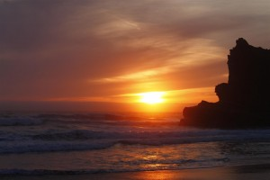 Cook's Beach Sunset by Diane Grenkow (Large)