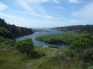 The closed Gualala River (Large)