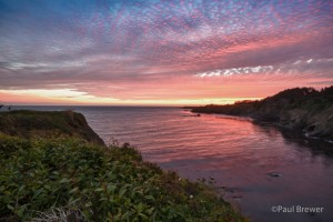 Gualala Sunset by Paul Brewer