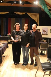 Jeanne, Holly and Craig at book launch by Nan Brichetto (Large)