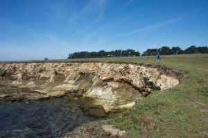 Sinkhole at the PA-Stornetta Lands by Allen Vinson