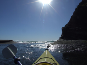 Kayaking on the Gualala River by Jason Aguirre