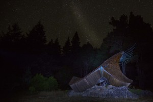 Stars and The Sea Ranch Chapel by Paul Brewer
