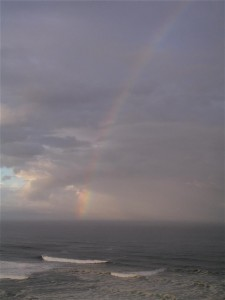 Thursday morn rainbow by Bettye Winters (Large)