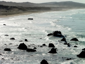 Beautiful surf by Carolyn André