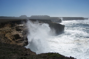 Big surf at the Stornetta Lands by Michael Alexander