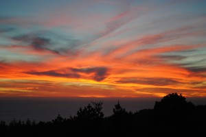 Valentine sunset by Jeanne Jackson