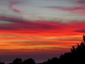 Valentine's Day Sunset by Robert Scarola