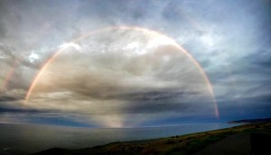 Double rainbow by Cherille Cochran
