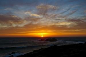 A beautiful sunset by Richard Kuehn
