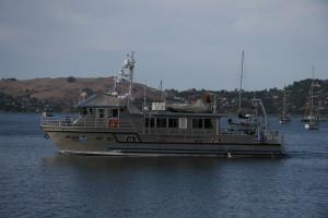 Research vessel Fulmar by Jamie Hall, FMSA
