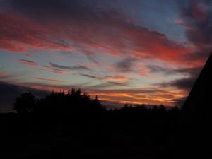 Saturday night's spectacular sunset by Jon Loveless