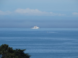 Bell M. Shimada, a NOAA research vessel and a fishing boat by Jon Loveless