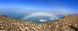 September Fogbow by Margaret Lindgren