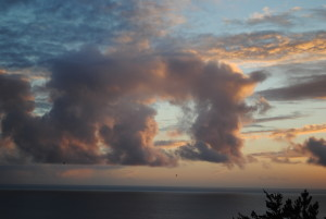 11.8.15 Sunset Portal in the sky by Jeanne Jackson