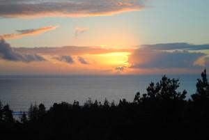 11.8.15 Sunset by Jeanne Jackson