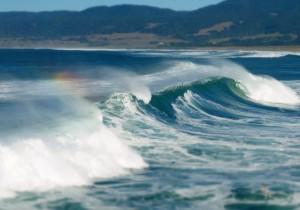 A Rainbow Wave by Margaret Lindgren