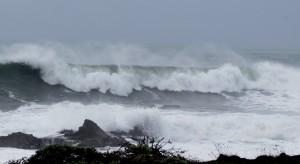 King Tide and Waves from Storm by Robert ScarolaJPG