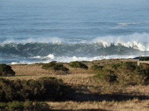 Big waves off The Sea Ranch by Jon Loveless