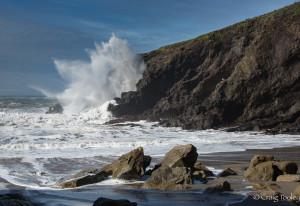 Big waves at Hearn Gulch by Craig Tooley