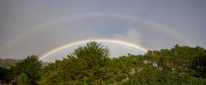 Double Rainbow by Paul Brewer