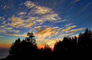 August 7 sunset by Allen Vinson